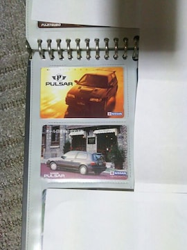 テレカ 50度数 '90 ハッチバック パルサー N14 GTI-R X1R フリー110#99908 W 未