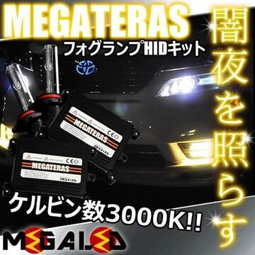 超LED】エルグランドE50系後期/フォグランプHIDキット/H1/3000K