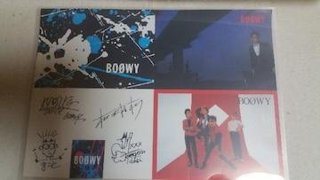 BOOWY激レア!オフィシャルポストカード4枚セット 非売品