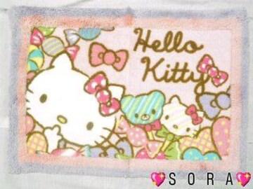 【キティ】可愛いバスマット/玄関マット