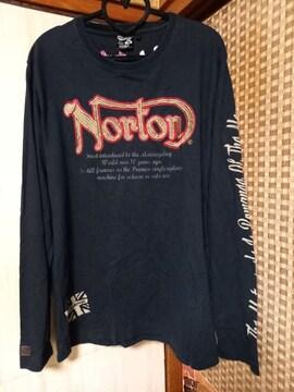中古★Norton★黒ロンT・men'sXL