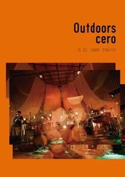 即決 cero Outdoors DVD 新品未開封
