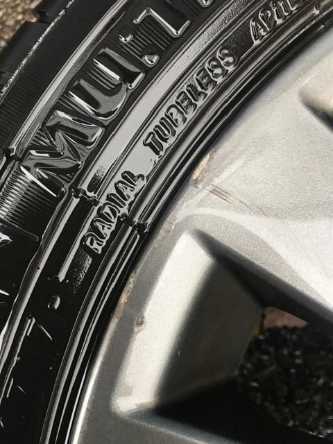 スバル サマー エコタイヤ ホイールセット 出光 155 65r 14 < 自動車/バイク