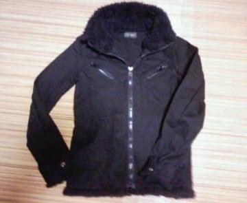 LA GATE   リブジャケット   サイズ3   黒