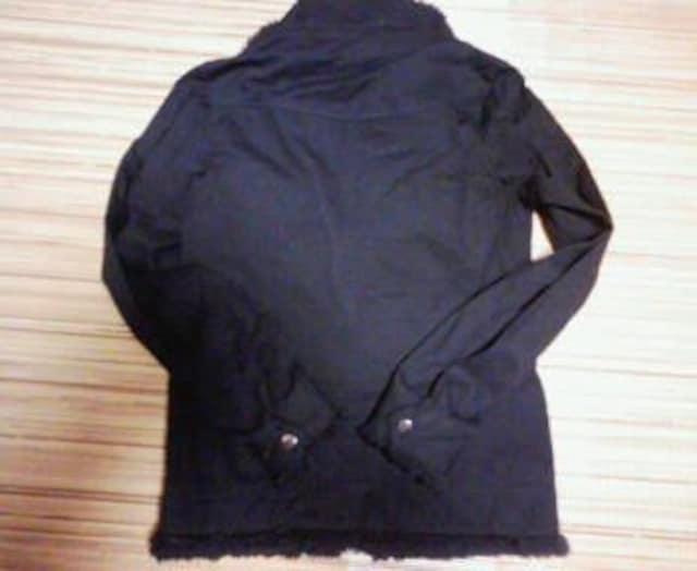 LA GATE   リブジャケット   サイズ3   黒 < ブランドの