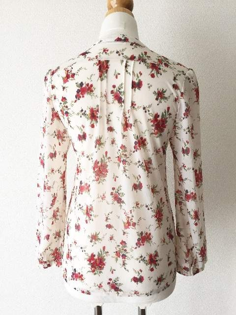 [a.v.v standard]★花柄・長袖シャツ・サイズ[38]★ < ブランドの
