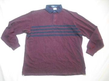 41 男 POLO RALPH LAUREN ラルフローレン ラガーシャツ Lサイズ