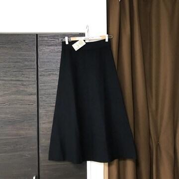 新品未使用フレアスカート着丈83ウエスト平置34muji無印良品