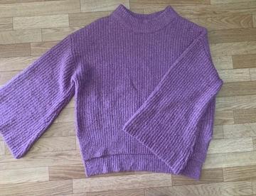 SIMPLICITE(ベイクルーズ系列)パープルオーバーサイズニット紫色