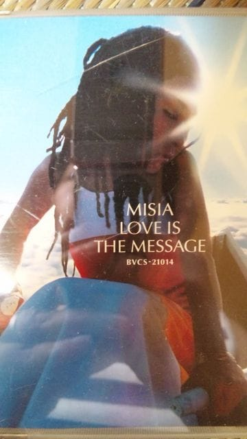 【MISIA】LOVE IS THE MESSAGE◆アルバムCD < タレントグッズ