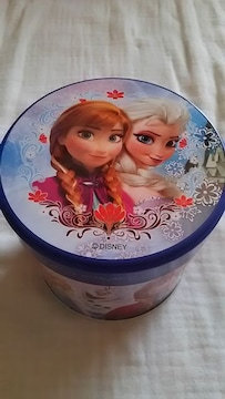 【Disney】アナとエルサの丸缶