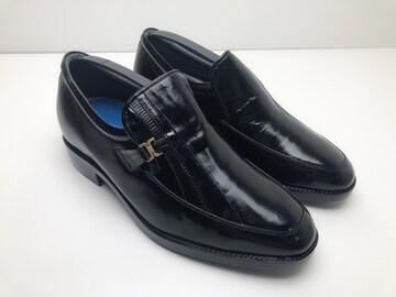 X055 ノルディーニ 革靴 シークレットシューズ 25.5�p