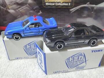 トミカくじ5 スカイラインR31 GTS  覆面パトカー  青 黒