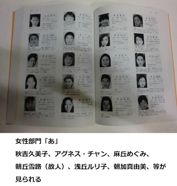 タレント 名鑑 日本