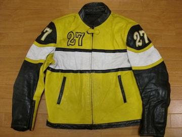 本場 スペイン製 GARIBALDI ライダースジャケット L