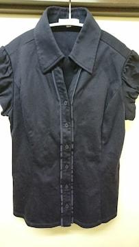 新品★未使用★NARACAMICIE★ナラカミーチェ★シャツ★紺★カットソー★1★シャツ