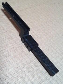M16 M4 AR15 キャリングハンドル用 マウントレイル