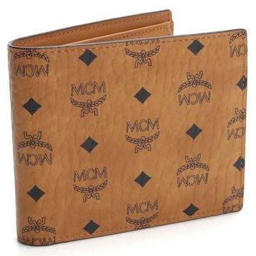エムシーエム 折財布 MXSAAVI01 CO001 gsm-2 ブラウン系 メンズ
