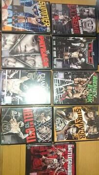 WWE 2013 日本国内版 DVD まとめ売り/CMパンク ダニエルブライアン 等