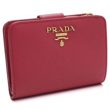 PRADA 2つ折り財布 1ML018 QWA F0505 PEONIA