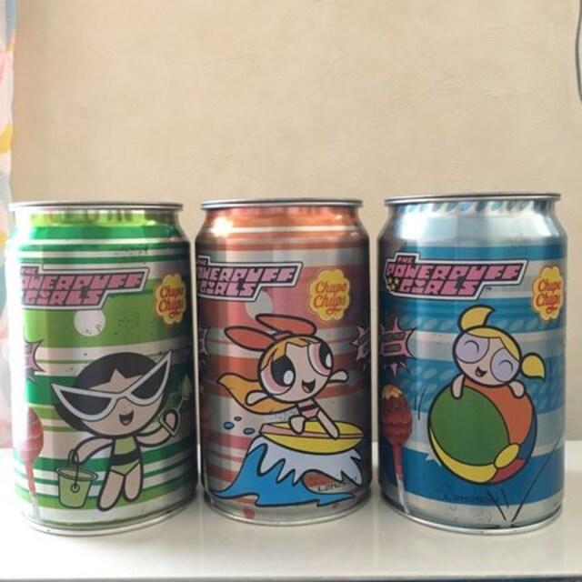 パワーパフガールズ  チュッパチャプス 空き缶  < アニメ/コミック/キャラクターの