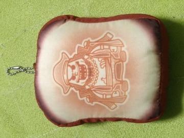 ONE PIECE  食パン型クッションボールチェーン 黒ひげ