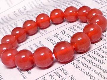 天然赤瑪瑙アゲート§12ミリ§数珠