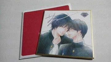 Chara コミックス バースデーフェア2020 ミニ色紙[ロッカバイディア]暮田マキネ