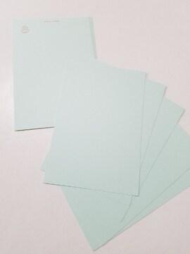 あさぎ色ポストカード★シンプル★9枚セット