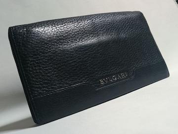 正規 ブルガリBVLGARI アーバン 長財布黒 小銭入れ有 多機能モデル 兼用
