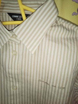 コムサイズム長袖シャツ130新品タグ無し