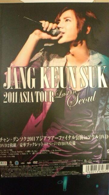 激安!超レア!☆チャングンソク/2011ASIA TOUR☆初回盤DVD2枚組+ブックレット  < タレントグッズの