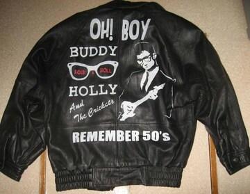 手描き バディ・ホリー BUDDY HOLLY 50's ロックンロール