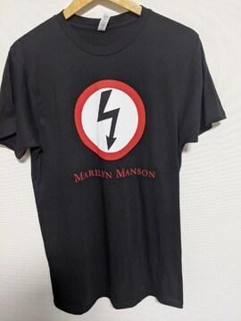 MARILYN MANSON(マリリンマンソン)CLASSIC BOLT Tシャツ〈Mサイズ〉