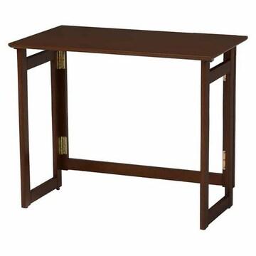 折りたたみテーブル(ダークブラウン) VT-7812DBR
