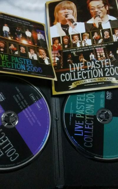 LIVE PASTEL COLLECTION2006 < タレントグッズの
