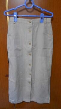 ★ 前ボタンのスカート