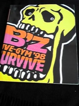 B'z Live-Gym 98 SURVIVE コンサートツアーパンフレット ライブジム 稲葉 即決