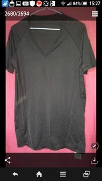 UNIQLO☆黒☆シンプルTシャツ☆size XL