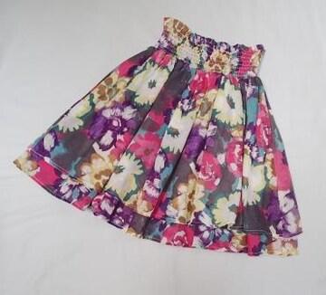 ◆LOVE GIRLS MARKET/フレアースカート/サイズF