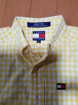 ◆TOMMY HILFIGER◆KIDSギンガムチェックシャツ