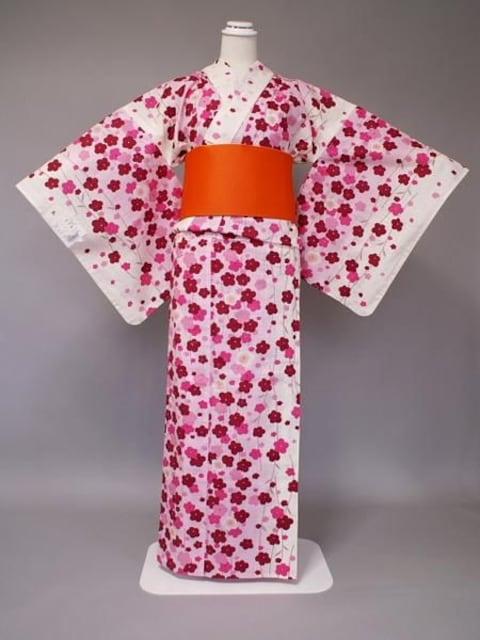 SEIKO MATSUDA松田聖子ブランド浴衣小花柄 < 女性ファッションの