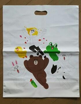 【ライン★ショップ袋】#ブラウン#コニー#サリー#ジェームズ