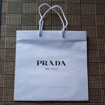 【PRADA★ショップ袋】中サイズ♪プラダ♪プレゼントなどに♪