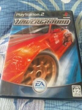 《ニード・フォー・スピード・アンダーグラウンド》【PS2ソフト】レース