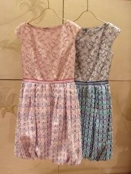 美品TOCCA  ゴールドレーベル CROCUSドレス4