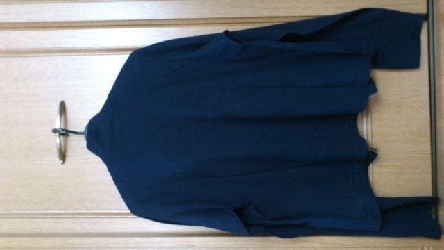 訳あり激安82%オフアニエスb、長袖シャツ(美品、紺、M〜L位) < ブランドの