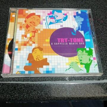 CD「トライトーン/アカペラマジックボックス」TRY-TONE サイン