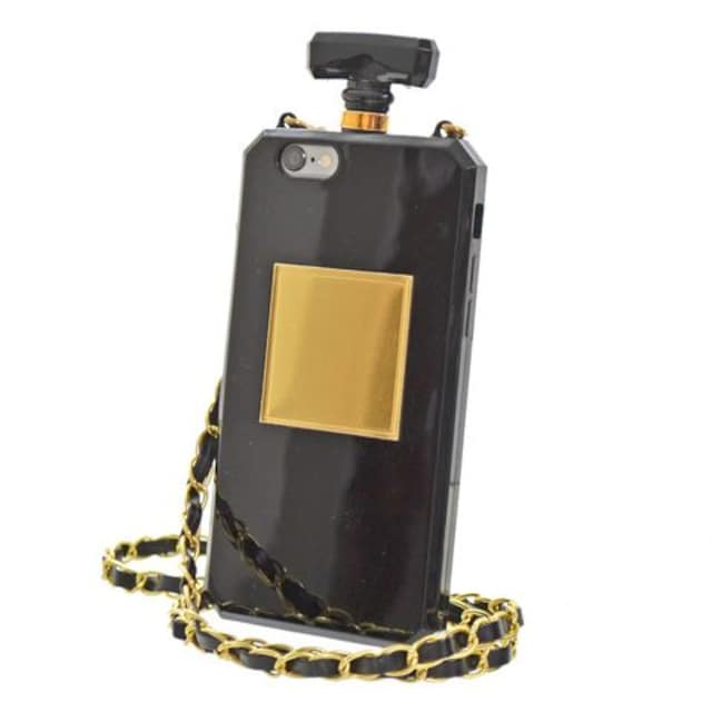 i人気★Phone64.7 香水ケース型スマホケースBK  < 家電/AVの