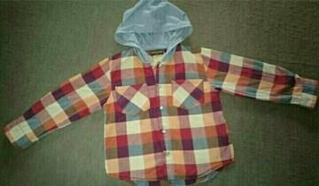 110チェックシャツ☆